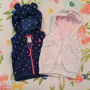 3 for $15 Baby Girl Vest Bundle